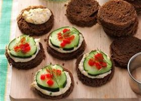 Basic canape ingredients recipe for Canape recipes with ingredients and procedure
