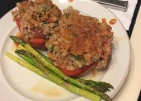 Chef John S Stuffed Peppers Allrecipes Com Recipe