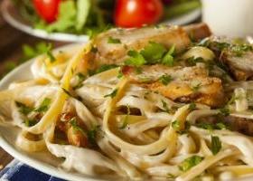 Cajun chicken alfredo guy fieri food network recipe creamy chicken alfredo casserole forumfinder Gallery