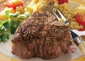 Rosemary-thyme lamb chops recipe