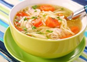 Chicken tortilla soup danny boome food network recipe easy chicken noodle soup forumfinder Image collections