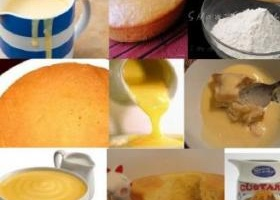 Pineapple custard cake recipe