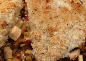 Apple stuffed chicken breast recipes baked