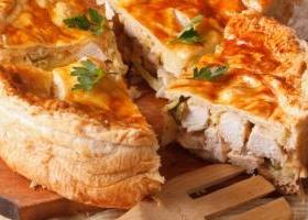 Chicken pot pie ree drummond food network recipe chicken and mushroom puff pie forumfinder Images