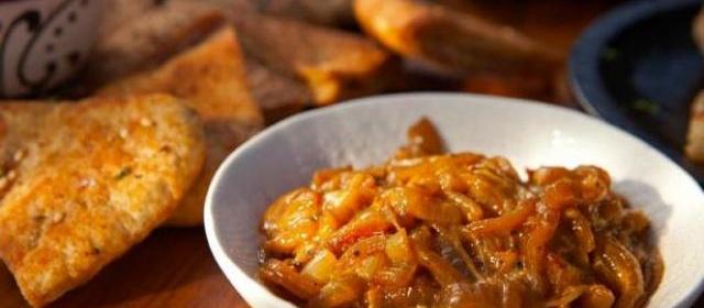 Roasted Garlic and Caramelized Onion Jam Recipe | Guy Fieri ...