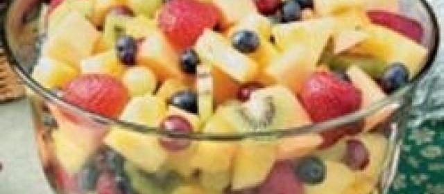 Anise Fruit Bowl