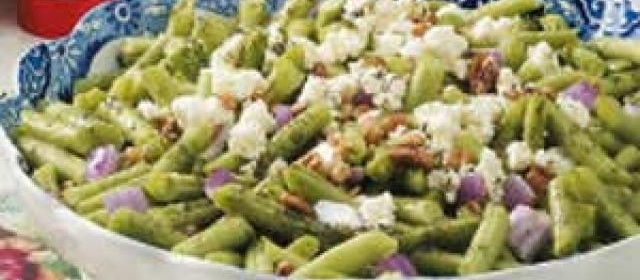 Green Bean Feta Salad