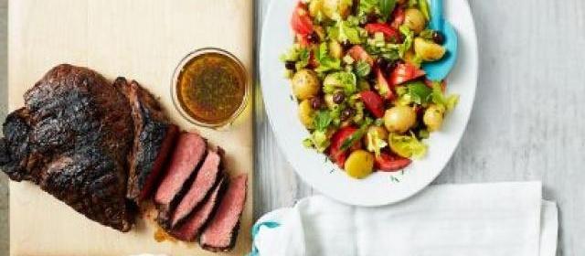 Italian Marinated Sirloin Steak