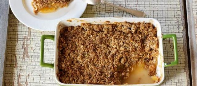 Apple Crisp Recipe | Kelsey Nixon | Food Network