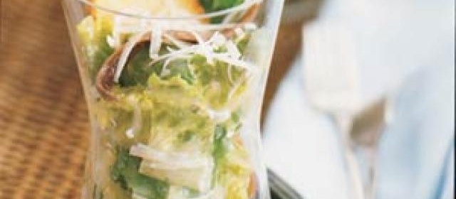 Stand-Up Caesar Salad