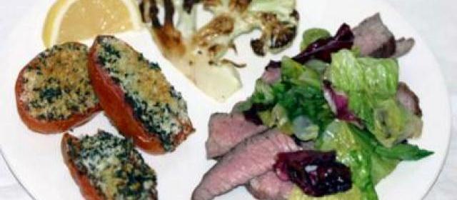 Creamy Roasted Cauliflower Recipe | Paula Deen | Food Network