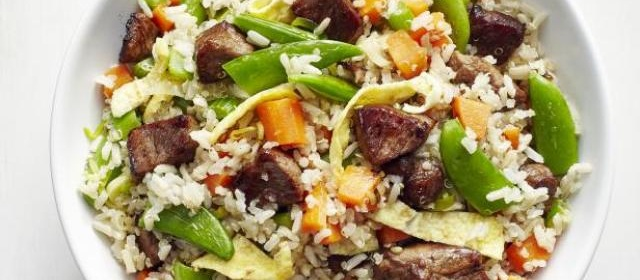Steak Fried Rice Recipe | Food Network Kitchen | Food Network