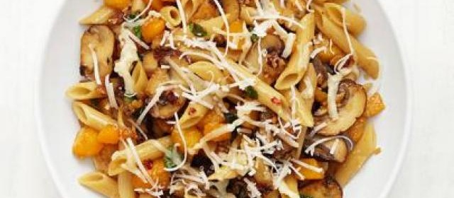 Penne with Butternut Squash