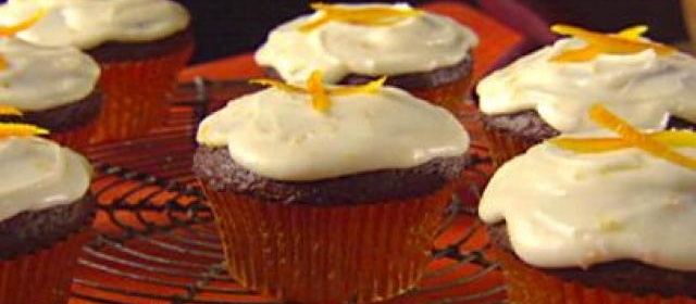 Chocolate Orange Cupcakes with Limoncello Frosting Recipe ...