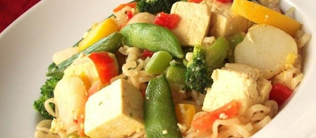 Fast and Easy Tofu Lo