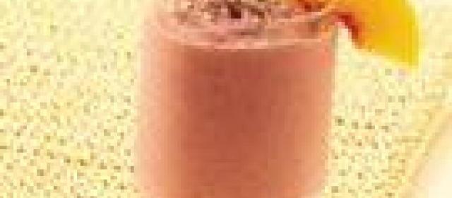 Raspberry-Peach Iced Tea Smoothies