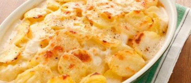 Low-Fat Scalloped Potatoes