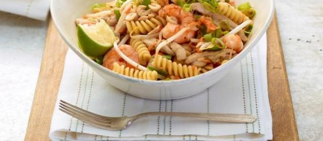 Pad Thai Pasta Salad Recipe