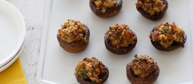 Sausage-Stuffed Mushrooms Recipe | Ina Garten | Food Network