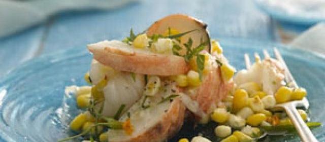 Lobster and Corn Salad With Tarragon Vinaigrette Recipe ...