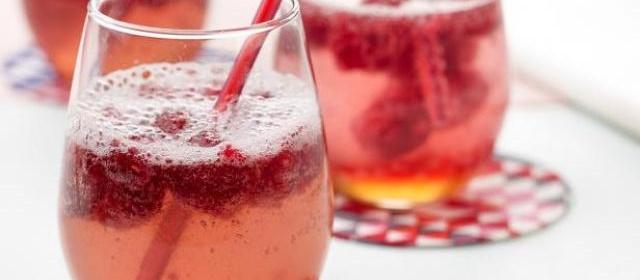 Raspberry Gingerale Recipe | Bobby Flay | Food Network