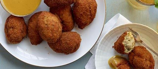 Chicken-Ham Croquettes Recipe | Food Network Kitchen | Food ...