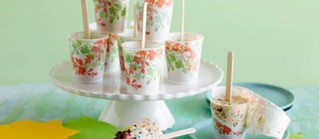 Ice Cream Freezer Pops Recipe