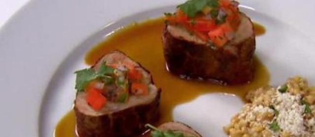 Spice Rubbed Pork Tenderloin with Bourbon-Chipotle Sauce ...
