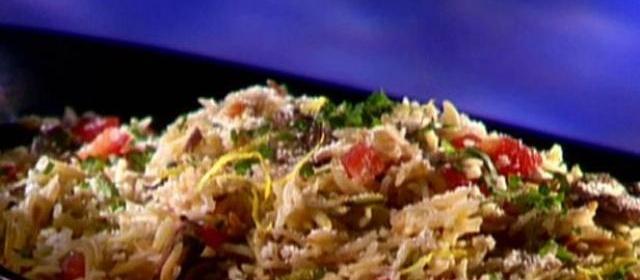 Rice Pilaf Garden Style Recipe