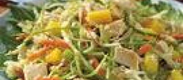 Tangy Mango Chicken Salad
