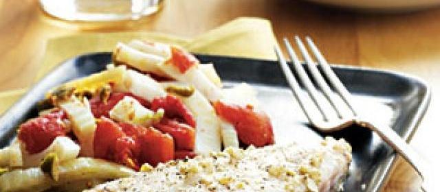 Pan-Roasted Grouper with Provençal Vegetables Recipe ...