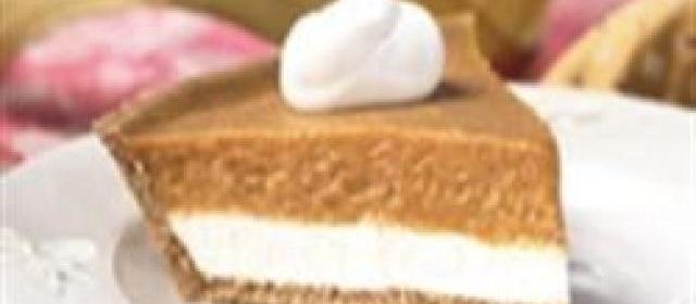 KEEBLER® READY CRUST® Double Layer Pumpkin Pie