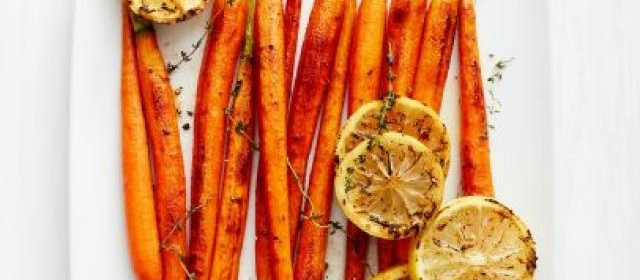 Lemon-Thyme Roasted Carrots