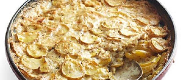 Scalloped Potatoes Recipe.