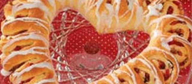 Cherry Pecan Coffee Cake