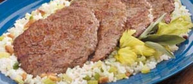 Cubed Steak Diane