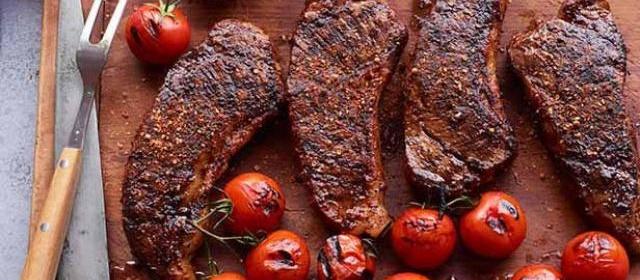 Strip Steak With Spiced Salt Recipe | Food Network Kitchen | Food ...