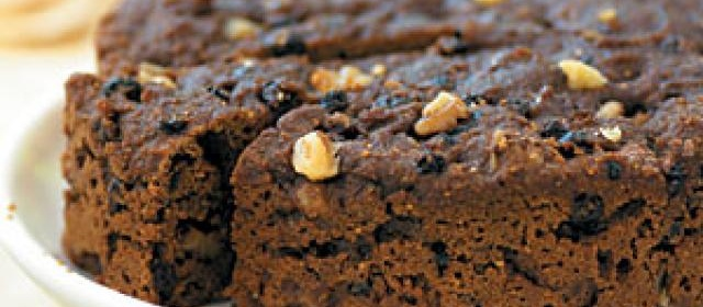 Steamed Brown Bread with Currants and Walnuts Recipe ...