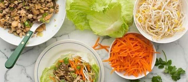 Turkey Lettuce Wraps Recipe | Melissa Darabian | Food Network