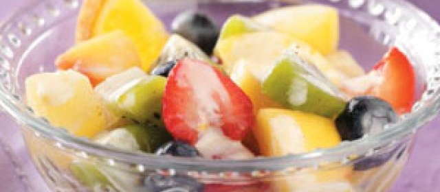 Fruit Salad with Lemon Dressing