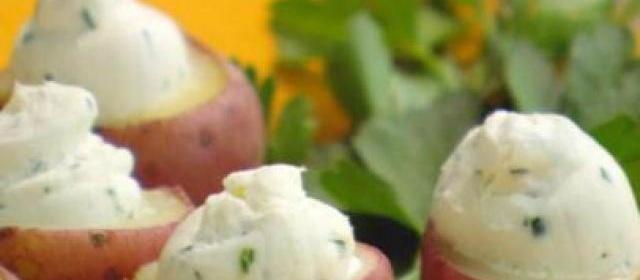 Cream Cheese Stuffed New Potatoes
