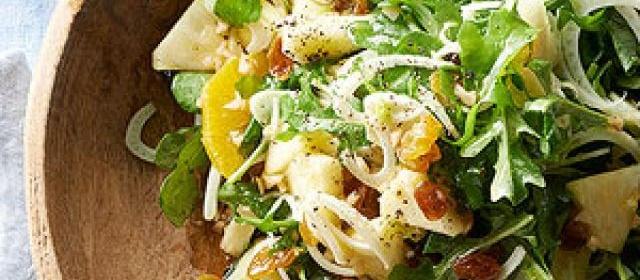 Arugula Fennel Salad