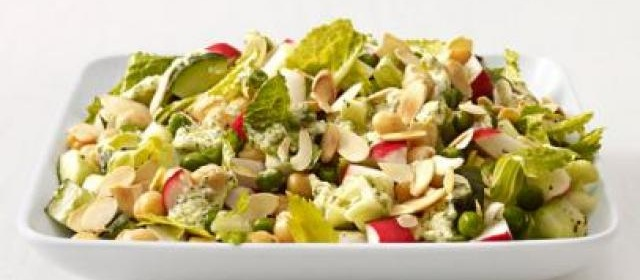 Chopped Apple Salad with Toasted Walnuts, Blue Cheese and ...