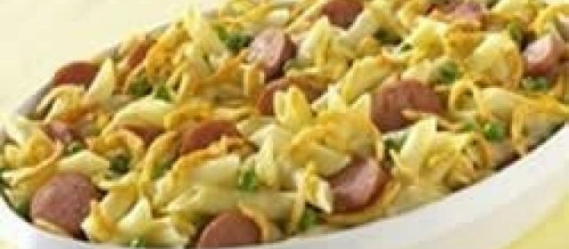 Baked Penne and Smoked Sausage