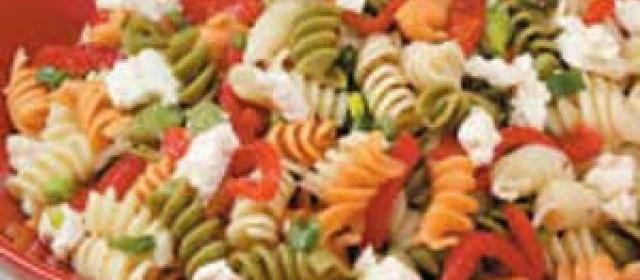 Roasted Pepper Pasta Salad
