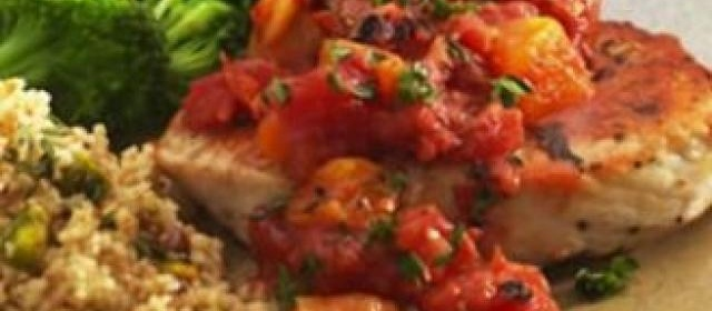 Pork Chops in Tomato & Chorizo