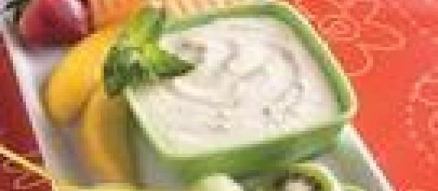 Mango-Mint Fruit Dip