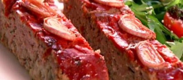Turkey and Beef Meatloaf with Cranberry Glaze Recipe | Food ...