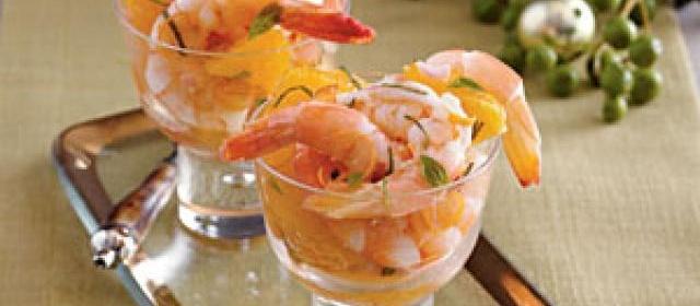 Shrimp and Citrus Cocktail