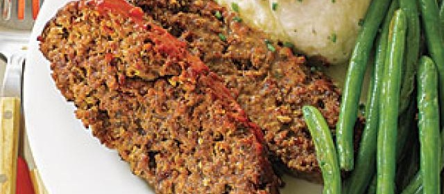 Meatloaf with Mozzarella, Mushrooms and Pepperoni Recipe ...
